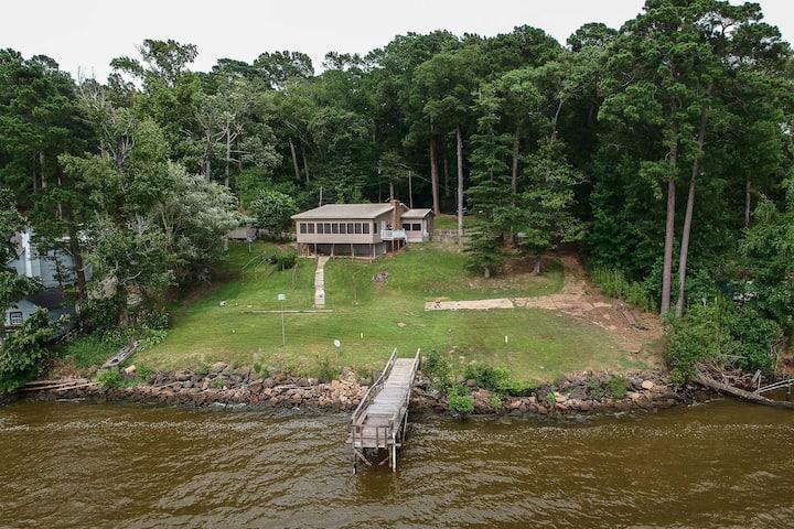 NEW! Home w/Dock + Views on Toledo Bend Reservoir!