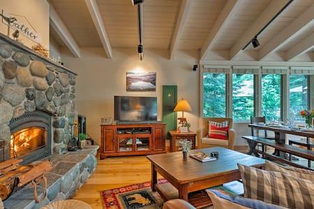 Luxe Mountain Cabin: 5 Mi to Sugar Bowl Ski Resort