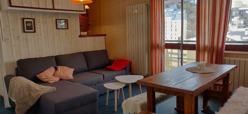 Appartement skis aux pieds  Résidence Ger 1