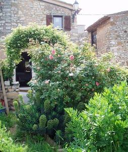Maison de charme et jardin - Luberon - Provence - Rustrel