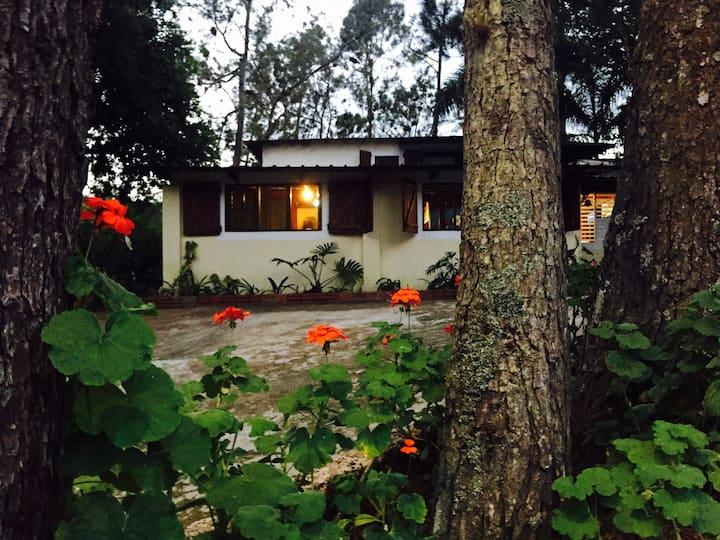 Cabaña casa rural Arroyo Frío Constanza
