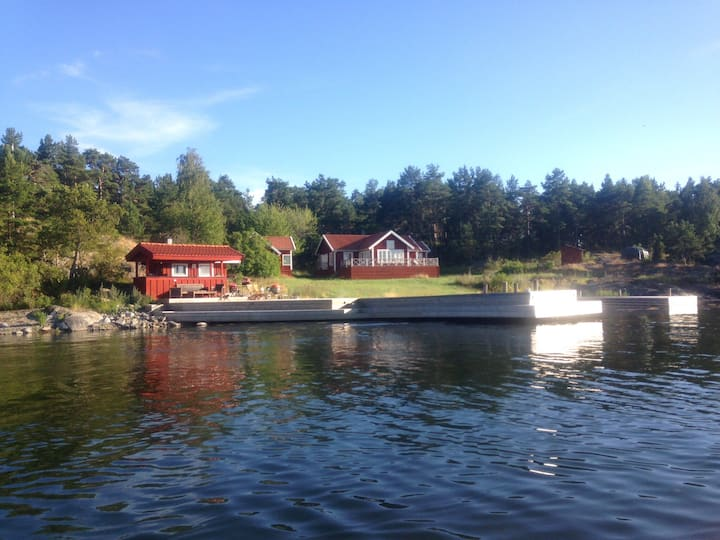 Private Island 1 hour South of Stockholm