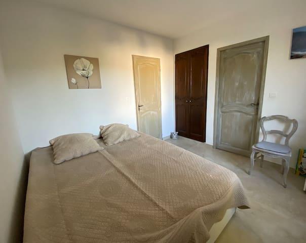 Chambre 2 lit 160cm