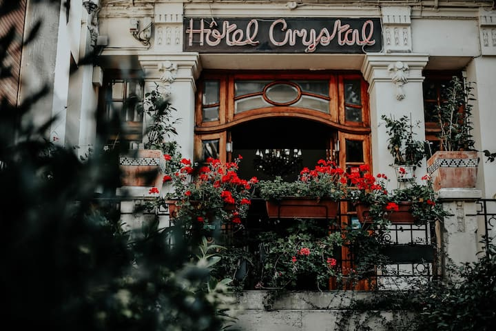 HOTEL CRYSTAL REIMS CHAMBRE DOUBLE 2 PERSONNES
