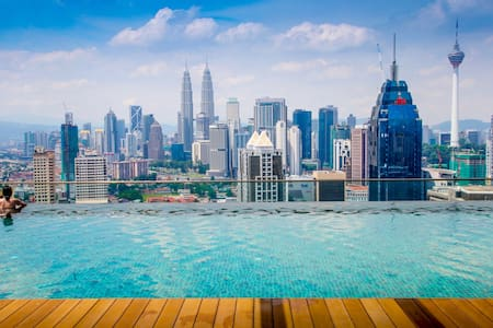 KL City - Traveler Suites, 3 Rooms, Affordable! - Kuala Lumpur