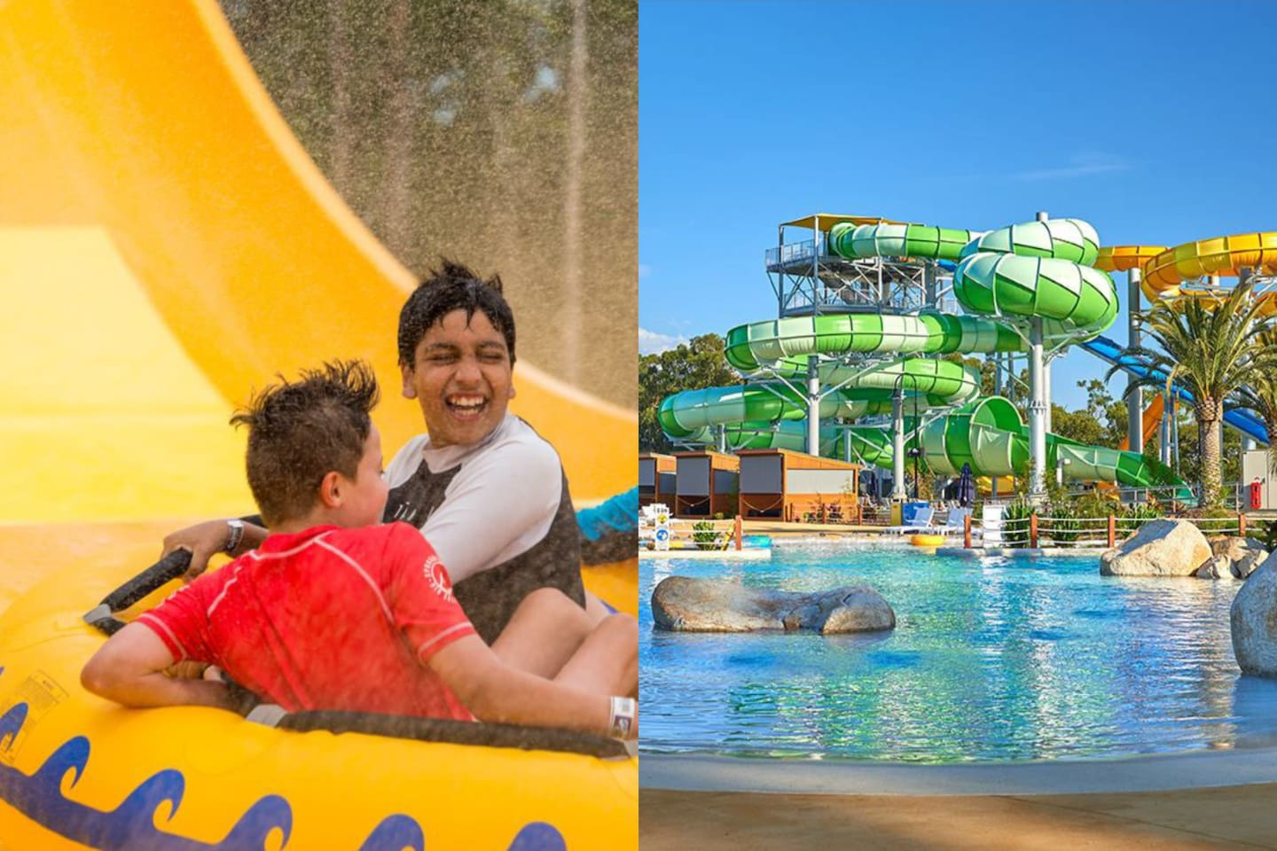 15 minutes by car: Gumbuya World is perfect in any season offering a variety of activities throughout the year.