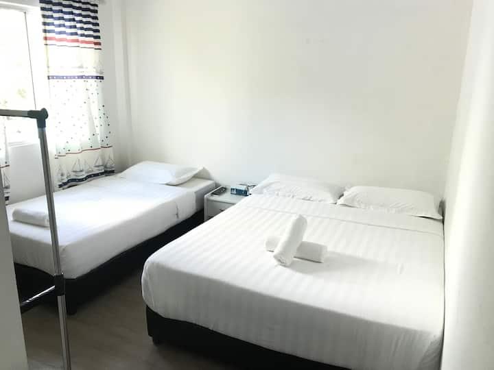 懒洋洋·小舍/XXL Homestay, ROOM 02 (三人房,适合两大一小)+独立浴室