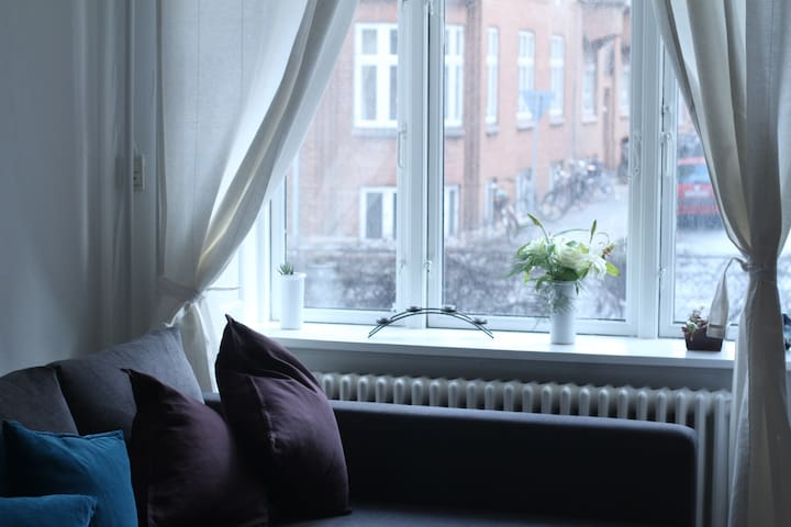 Bright Fredericksbjerg room in great location! - Aarhus - Appartamento
