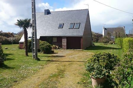 Maison à ossature bois - Landunvez - Rumah