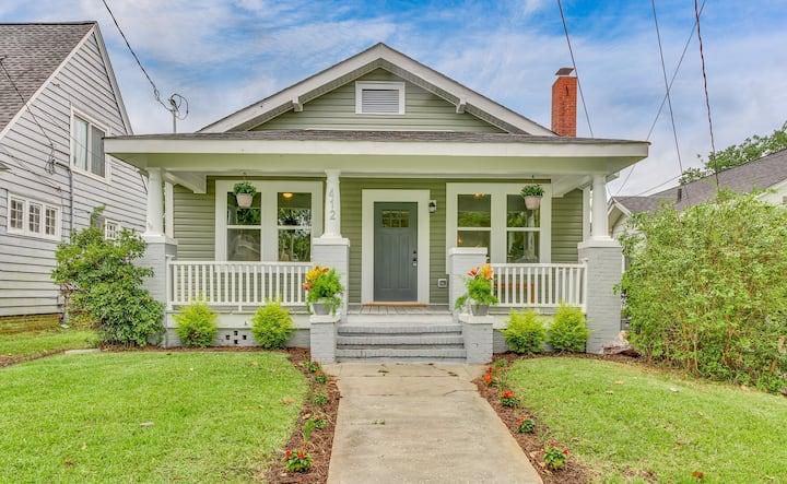 Cozy Ardmore bungalow