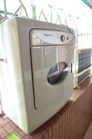 陽台-烘衣機