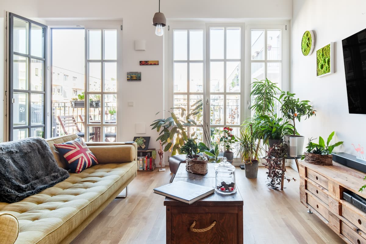 Spacious apartment with unique design in Friedrichshain
