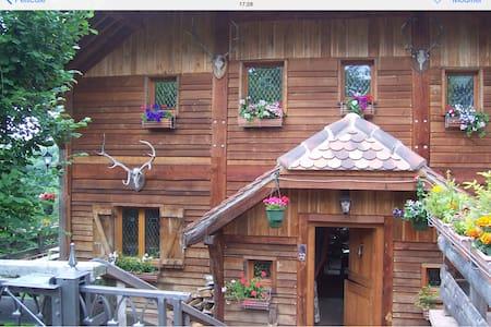 Chalet en bois en bordure de forêt - La Petite-Pierre - 牧人小屋