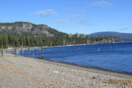 Pierce Place - PERFECT west shore walk to beach - Rumah