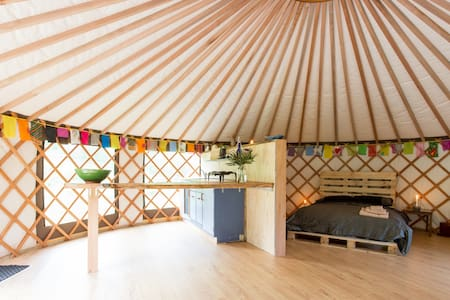 The Raglan Yurt: Experience yurt-life at its best - Raglan