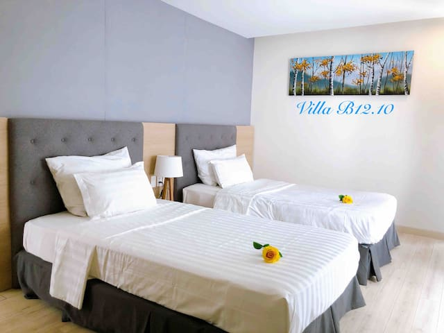 Phòng 2 giường đôi Twin room