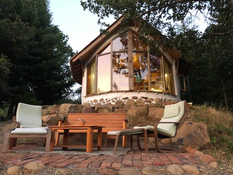 Custom Strawbale Cottage on an Organic Farm