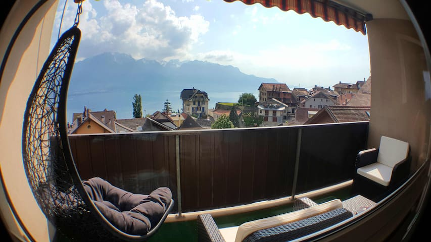 Image du profil Lovely Flat with Lake view - Chernex - Apartment