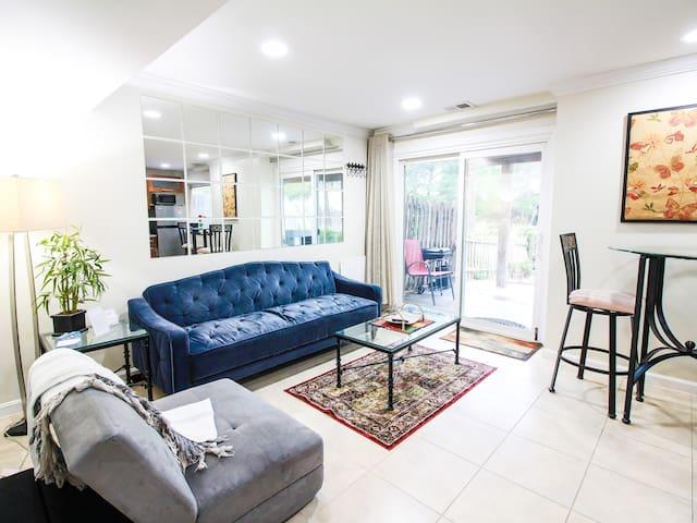 1 BR Spacious Basement Apartment DC20m Dulles 5m