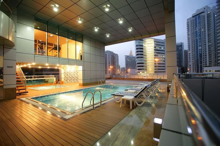 Entire Studio Barsha Heights Gulf Oasis Hotel