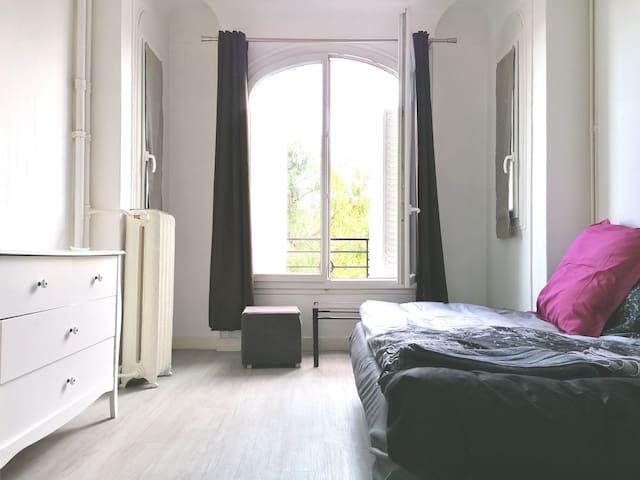 Cosy studio Aubervilliers 15 minutes to Paris