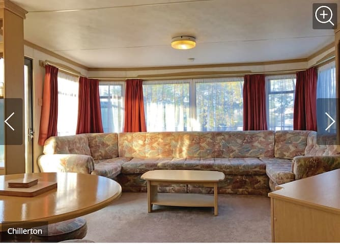 Chillerton Caravan at Holiday Park with Pool
