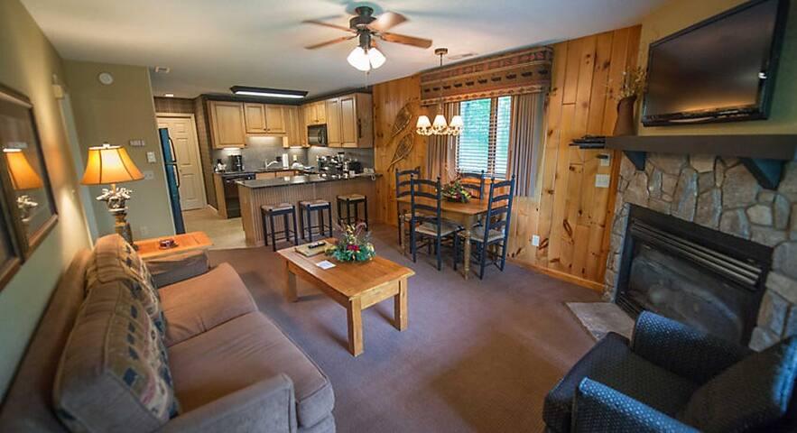 1 Bedroom Villa in Blue Ridge Mt. Resort