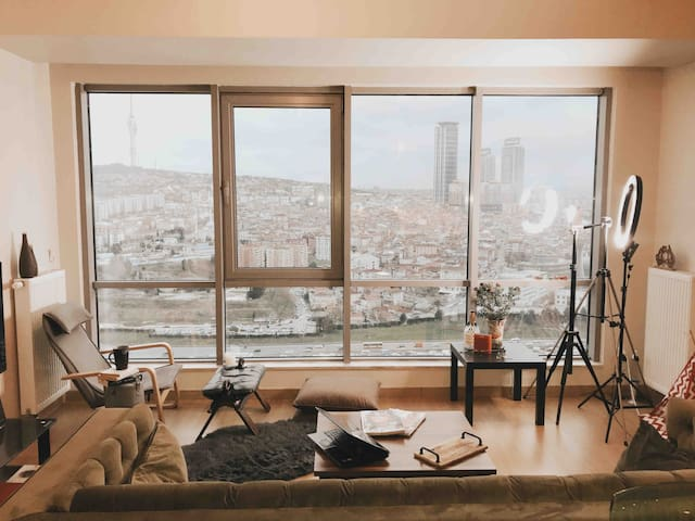 Muhteşem şehir manzarasını full cam ile seyredin