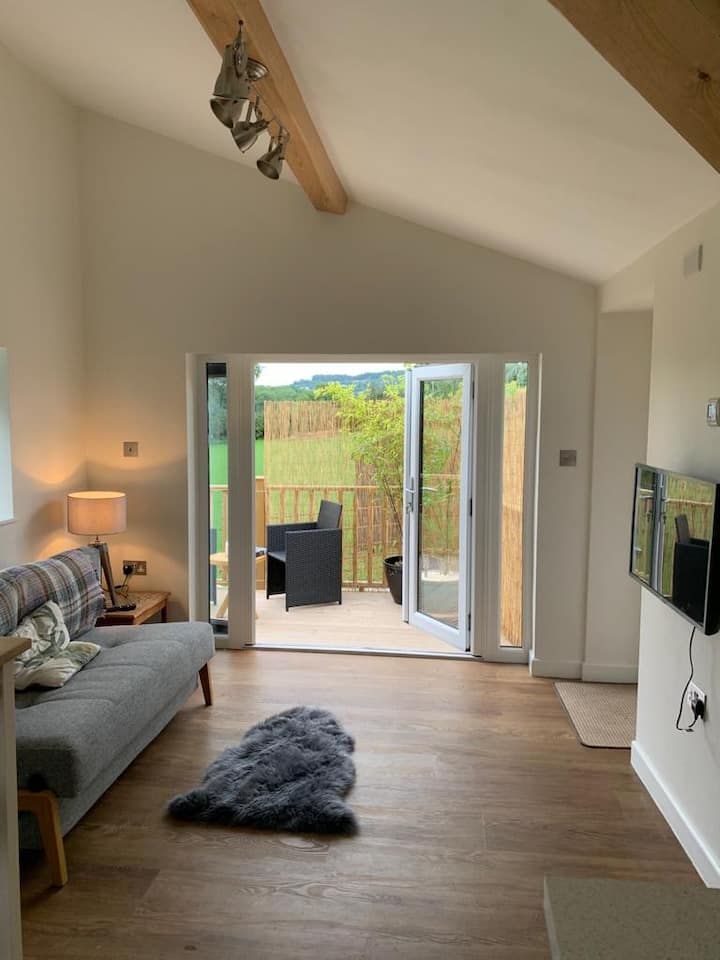 Converted barn in rural North Somerset