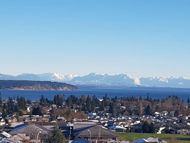 3 Bedroom Amazing Ocean Views, Fireplace, Hot Tub! - Campbell River - Penzion (B&B)