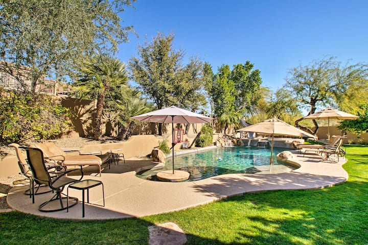 Scottsdale Home at Grayhawk w/ Pool, Slide + Spa!