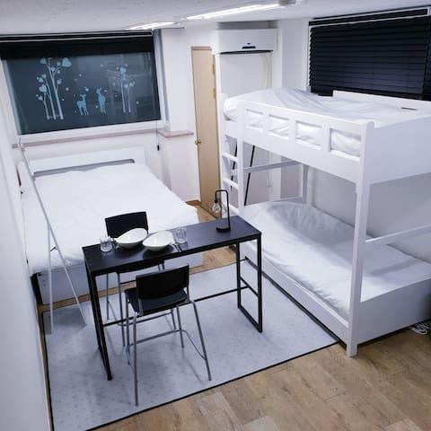 4min Seoul Stn, Free WI-FI, Clean, Modern Studio