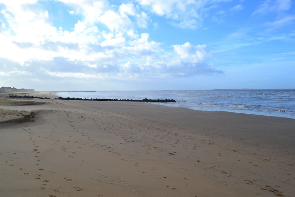 La plage à 150 mètres