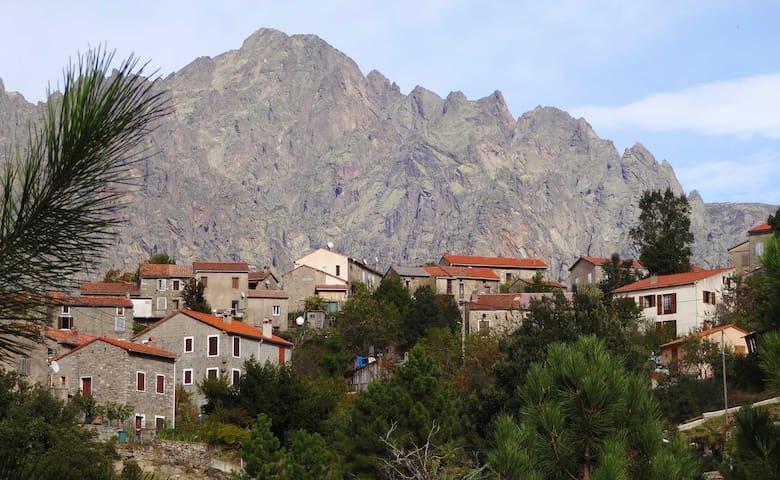 Licciola, maison de village Corse - Guagno - House