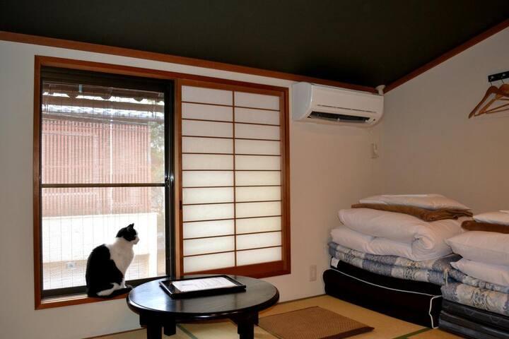 Kyoto Gion Kiraku Inn Japanese-Style Twin Room
