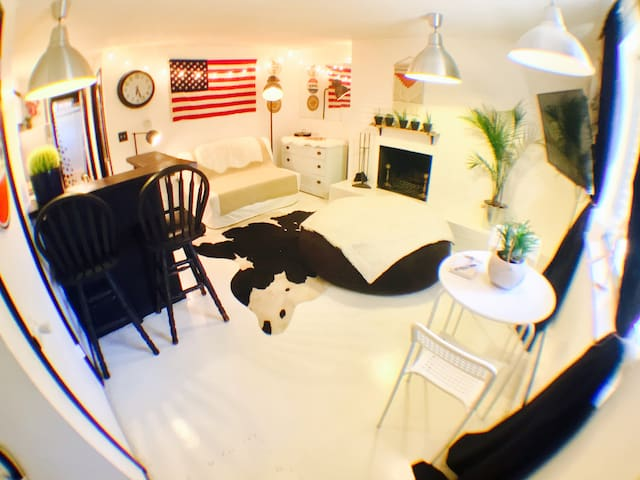Cute Downtown/Cap Hill Apt+Parking - 丹佛