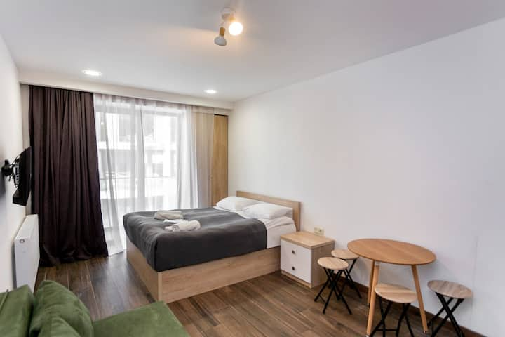 ❆ Spacious and Stylish Apartment. In New Gudauri ❆