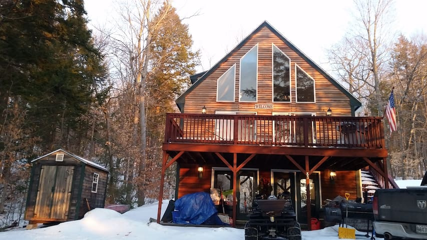 Little Sebago Chalet - Gray - Chalet
