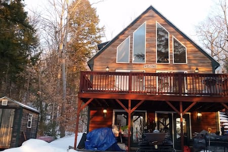 Little Sebago Chalet - Gray