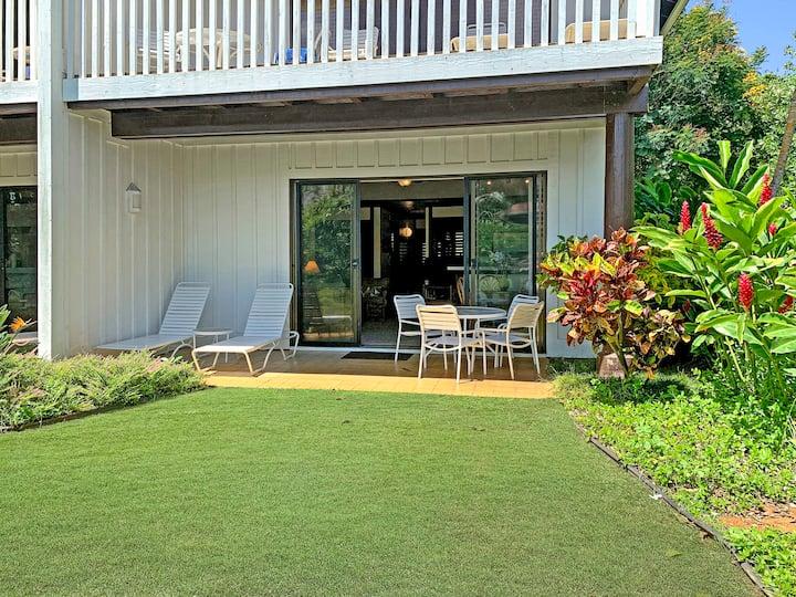 Ground Floor with Lanai Garden View at Kiahuna