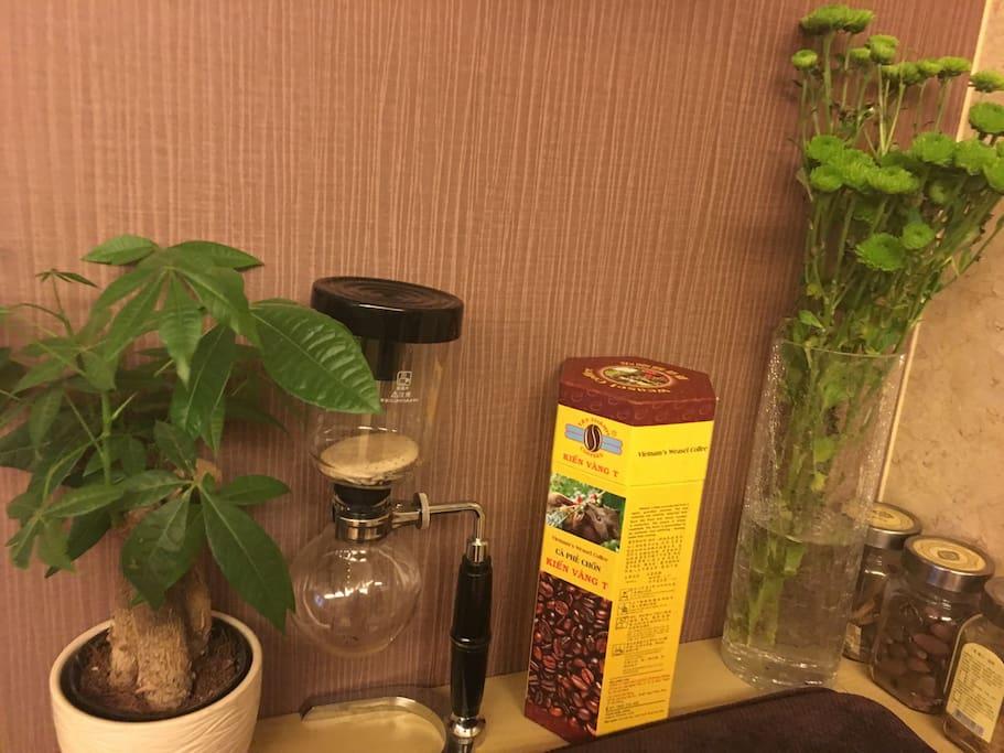 咖啡壶和咖啡壶