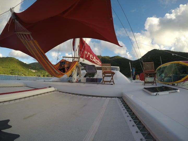 Catamaran ReAction (Charter Yacht)
