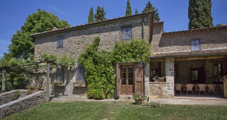 Pozza di Volpaia - Traditional Tuscan House - Volpaia