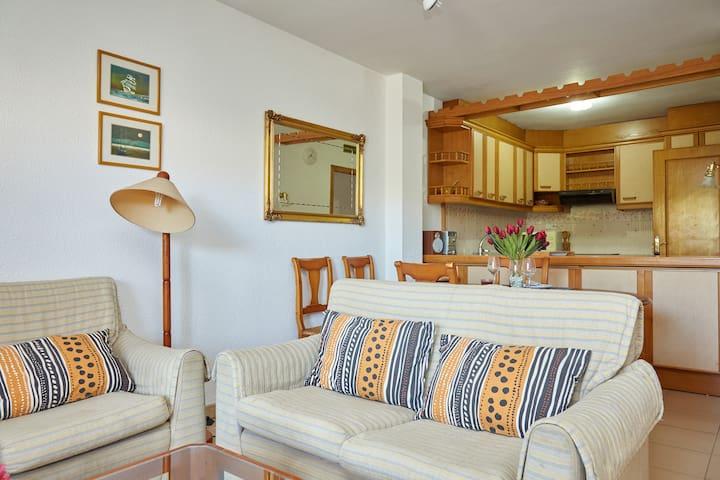 Apartamento junto a playa +Piscina +WIFI
