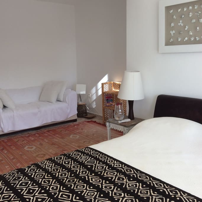 master bedroom  +  additional single bed  for infant