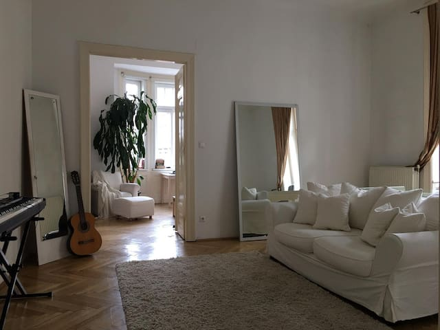 Room in beautiful historical Flat in Josefstadt