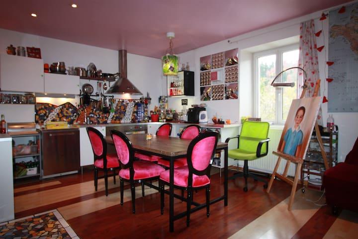 L'atelier de Faby - Maîche - Apartmen