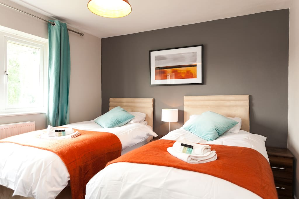 Main twin room with comfy beds