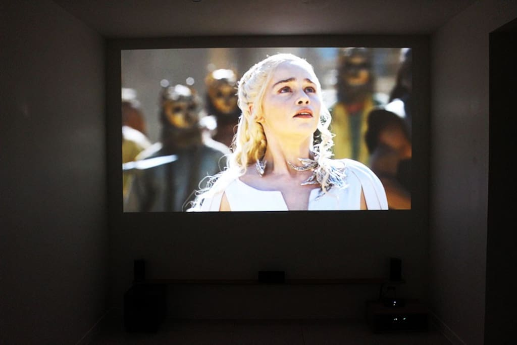 BEDROOM A PROJECTOR