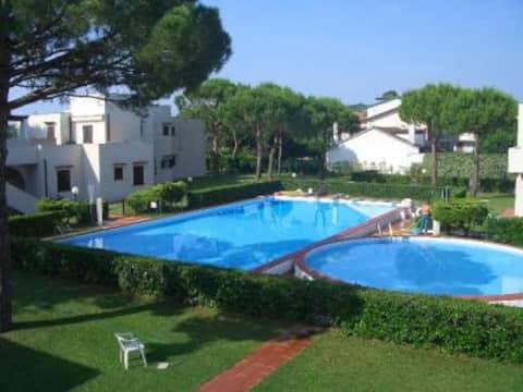 Appartamento con piscina al Lido di Jesolo